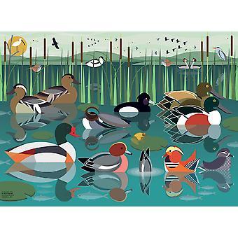Ravensburger I like Birds - Waterlands Palapeli (500 Kappaletta)