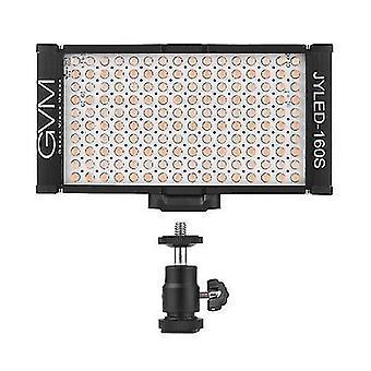 GVM 160 LED-es fény panel fény digitális fényképezőgép videokamera DSLR video fény