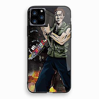 "Arnold Schwarzenegger Miękki odporny na wstrząsy futerał ochronny do Apple iPhone 11 Pro Max (6.5 "") Multicolor"