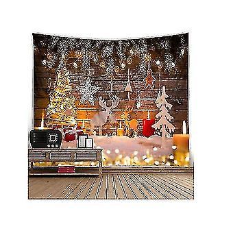 دائم النسيج عيد الميلاد الموقد التصوير خلفية جوارب حزب الزينة(GROUP1)