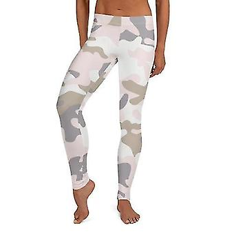 Hosiery seamless pastel camo leggings
