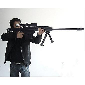 Lifesize Barrett M82a1 Sniper Rifle Gun Diy Paperi Mallisarja Käsintehty Lelu