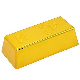 Kunststoff Sinulation Hohle GoldBarren Fake Brick