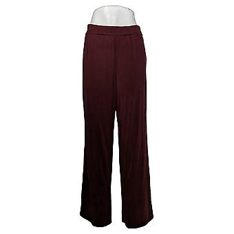 WynneLayers av MarlaWynne Dame Bukser Reg Modal Wide-Leg Red 618313