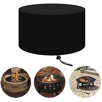 420d Heavy Duty  Round Fire Pit Cover