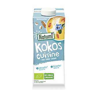Organic coconut-based cooking cream 200 ml (Coffee - Oats)