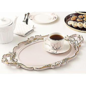 Decorative trays british retro vintage style serving and decorative organiser tray