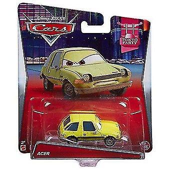 Toy cars disney pixar cars diecast acer green