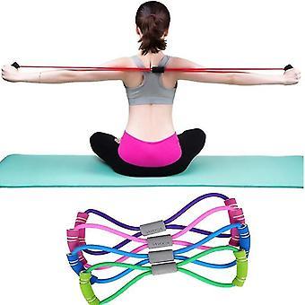 Sport und Fitness Stretch Widerstand Loop Bands für Workouts und Yoga (Blau)