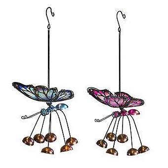 Fountasia valikoima sininen tai vaaleanpunainen perhonen roikkuu sisätiloissa / ulkona sisustus