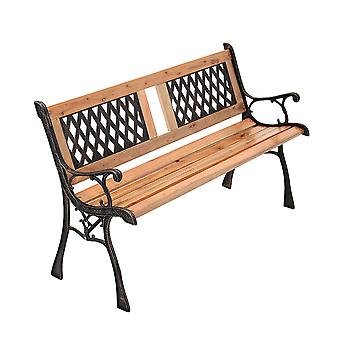 Classic Outdoor Park Bench Large Patio Deck Bench