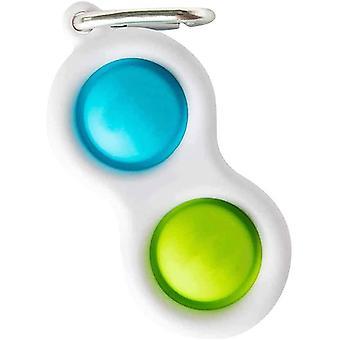 Simpelt simpelt legetøj, stress legetøj nøglering, bærbar dekompression Mini Legetøj, Simple Legetøj Dildy Sensorisk Legetøj