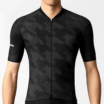Sommercykeltrøje sæt 2021 Team Racing Sport Cykeltrøje Mænd Cykling Tøj Mtb Kortærmet Hurtig tør cykeltrøje sæt