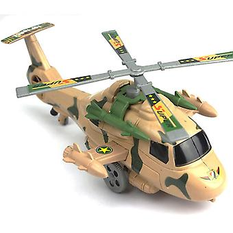 1pcs Launch Helicopter Airplane Model Flat Glider Airplane Model Outdoor Education Toys Military Toddler Toys