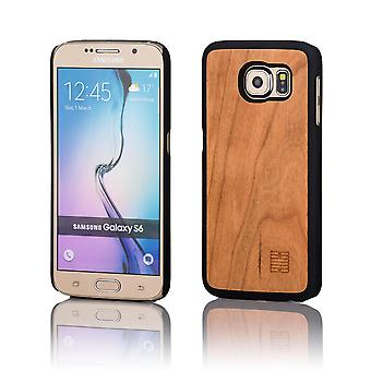 32nd Wooden Back case for Samsung Galaxy S6 (SM-G920) - Pear