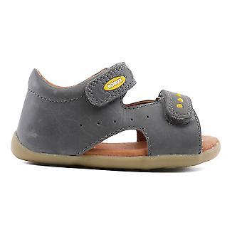 Bobux Step Up Boys Trekker minuscules sandales gris