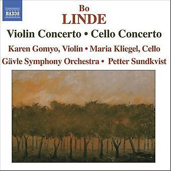 B. Linde - Bo Linde: Fiolinkonsert; Cello Concerto [DVD] USA importere