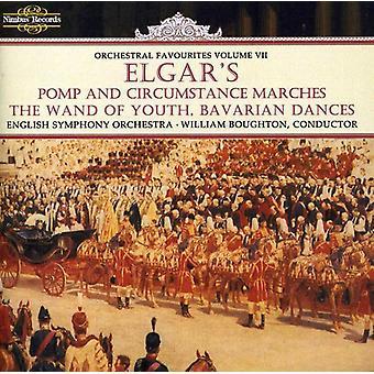 E. Elgar - Elgars pompa och ståt marscher, den Wand of Youth, bayerska danser [CD] USA import