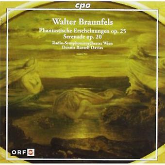 W. Braunfels - Walter Braunfels: Phantastische Erscheinungen, Op. 25; Serenade, Op. 20 [CD] USA import