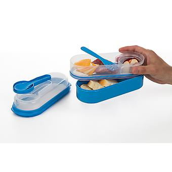Progressive OTG Oval Lunch Box Blue