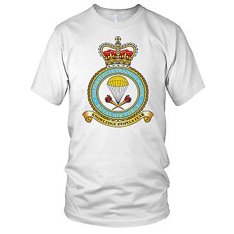 RAF Royal Air Force No.1 spadochron szkole RAF męskie T Shirt