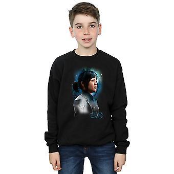 Star Wars Jungs die letzten Jedi Rose Tico gebürstet Sweatshirt