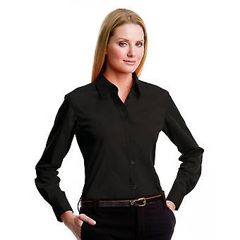 Kustom Kit Ladies L/S Workforce Shirt-KK729