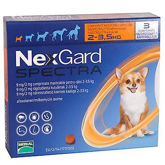 Nexgard Spectra X Small Dogs <3.5kg 6Pk
