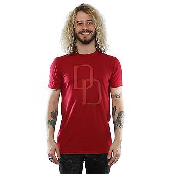 Marvel Men's Daredevil DD Logo T-Shirt
