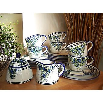 Complete service for 6 people, unique 40 - tea sets - BSN 2204