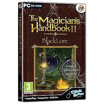 Den Magicians handbok II-BlackLore (PC CD)-ny