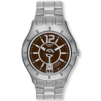 Swatch Men's In A Brown Mode Watch YTS406G