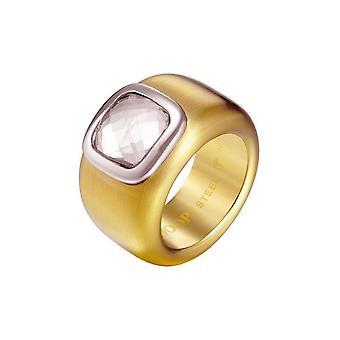 Joop women's ring stainless steel gold CORA JPRG10629B1