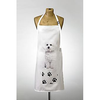 Adorable bichon frise design esiliina