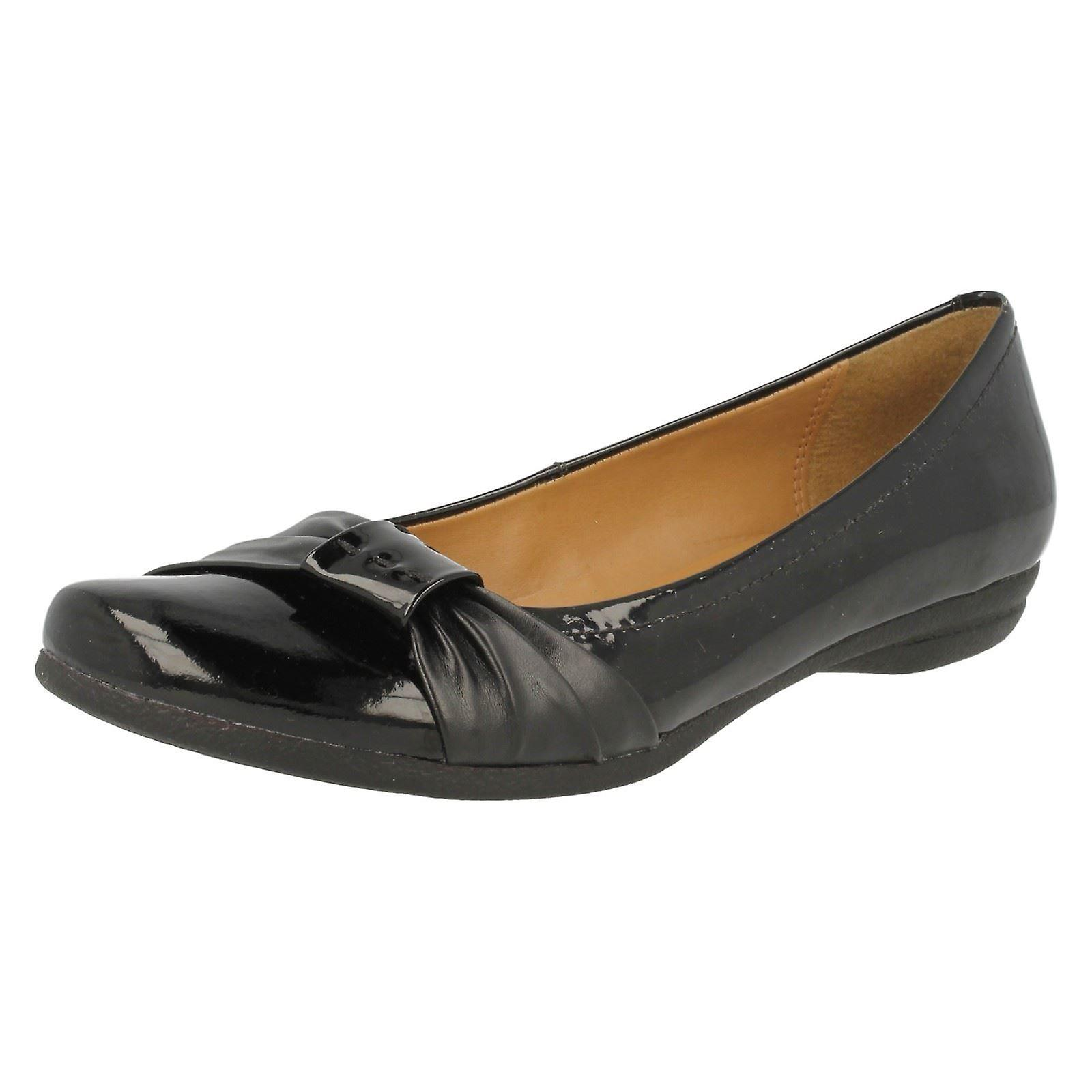Ladies Clarks Leather Shoes Discovery Bay gF0Hg