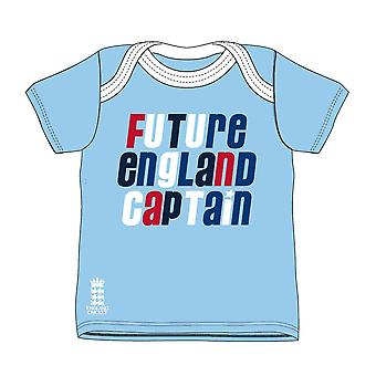 ECB Future England Captain T-Shirt 2018 - Sky