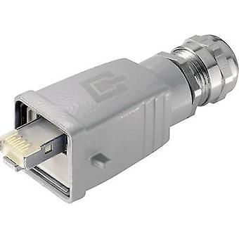 STX V5 RJ45-connector set versie 5 Plug, rechte aantal pins: 8P8C J80026A0018 Aluminium Telegärtner J80026A0018 1 PC('s)