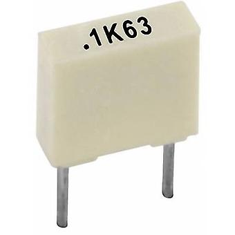 KEMET R82DC3220AA60K + 1 szt. kondensator zwierzętom promieniowe prowadzić 220 nF 63 V 10% 5 mm (L x b x H) 7,2 x 2,5 x 6,5 mm