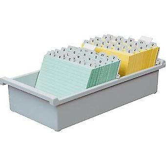 HAN 954-0-11 954-0-11 Card index tray Light grey No. of cards (max.): 1.300 cards A4 landscape