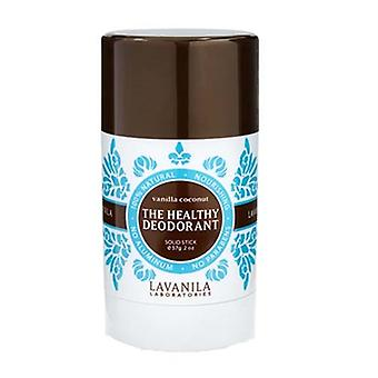 Lavanila The Healthy Deodorant Vanilla Coconut Solid Stick 2oz / 57g