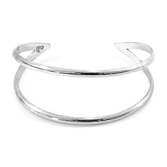 Anchor & Crew Huntington Midi Surf Silver Bangle