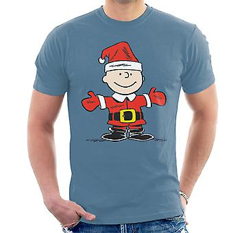 Peanuts Christmas Charlie Brown Herren T-Shirt