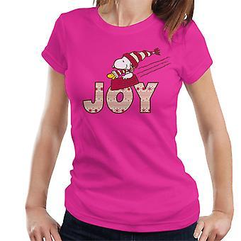 Peanuts Snoopy Christmas Joy Women's T-Shirt