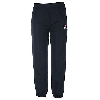 LA Gear Kids Girls Closed Hem Woven Pants Tracksuit Trousers Bottoms Clothing