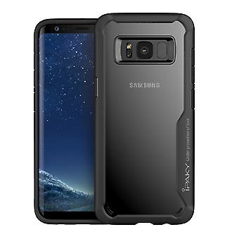 IPAKY Samsung Galaxy S8 Plus TPU Hybrid Shell-Black
