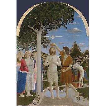 Kaste Kristus, Piero Della Francesca, 60x40cm