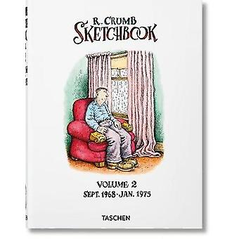 ロバート・クラムスケッチ ブック。Vol. 2 - 1968-1975 by ダイアン・ハンソン - 97838365