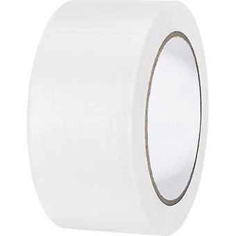 TOOLCRAFT 832450W-C 832450W-C PVC teippi Valkoinen (L x W) 33 m x 50 mm 1 kpl