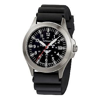 KHS horloges mens watch peloton titanium automaat KHS. PTA. DB
