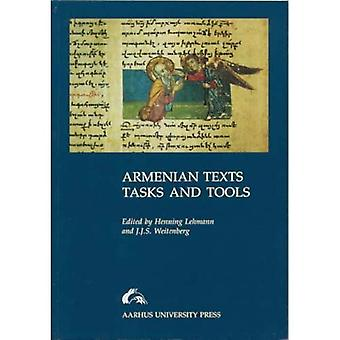 Armenian Texts, Tasks and Tools: How to Assess Variant Readings in Armenian Manuscripts